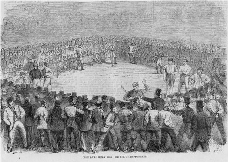 1866 Boxing Fight at Longfield