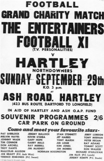 Hartley-Kent: Charity Football Match at Downs Valley